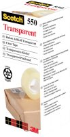 Scotch Transparent Tape 550 PP 19mmx33m
