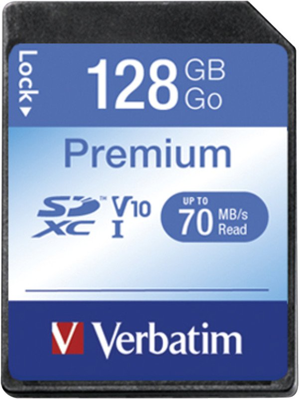 Verbatim Digital SDXC Card 128GB Pic1