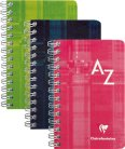 Clairefontaine Adressregister 7,5 x 12cm 4mm kariert