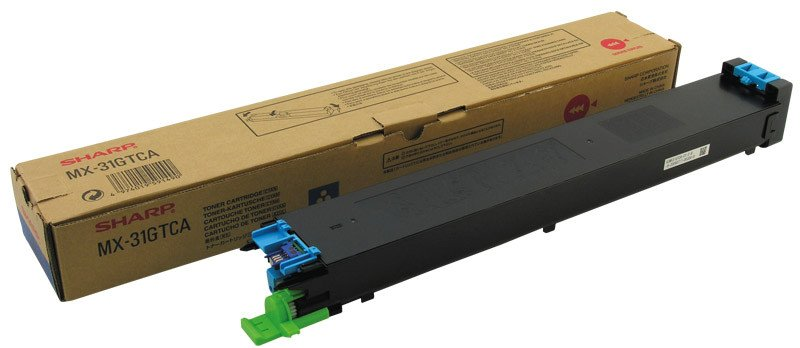 Sharp Toner MX-31GTCA cyan Pic1