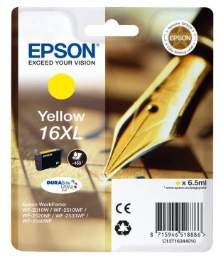 Epson InkJet 16XL yellow Pic1