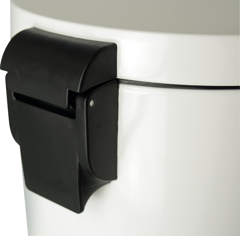 Helit Tretabfallbehälter the silent 20l weiss Pic2