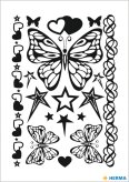 Herma Tatouages classiques YOUNGLine Butterfly
