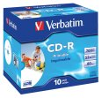 Verbatim CD-R 700/80/52x Jewel Case à 10
