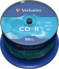 Verbatim CD-R 700/80/52x Spindel à 50