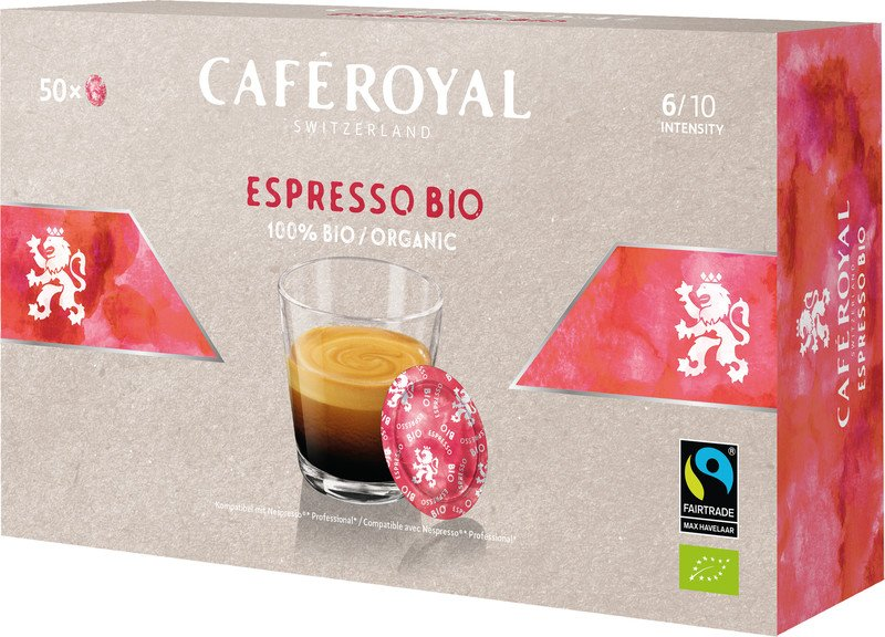Café Royal Office Pad Espresso Bio à 50 Office Pads Pic1
