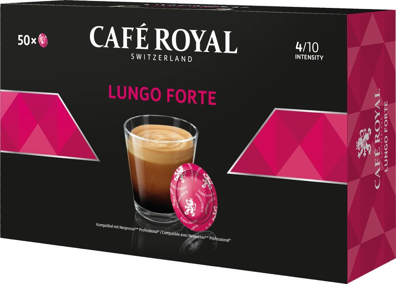 Café Royal Office Pad Lungo Forte à 50 Office Pads Pic1