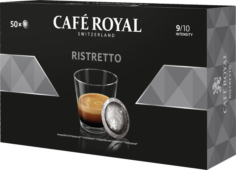 Café Royal Office Pad Ristretto à 50 Office Pads Pic1