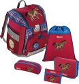Step by Step Schulrucksack-Set 5teilig Horse Family