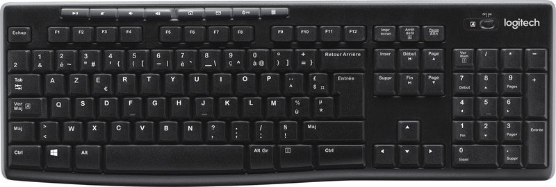 Logitech Tastatur Wireless K270 Pic2