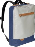 "Biella Notebook Rucksack Crowd 15"" grau"