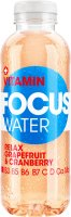 Focuswater Rot Relax Grapefruit & Cranberry