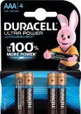 Duracell Batterien Ultra Power LR03 Micro 1,5V AAA à 4