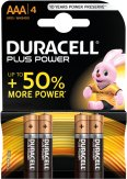 Duracell Batterien Plus Power LR03 Micro 1,5V AAA à 4