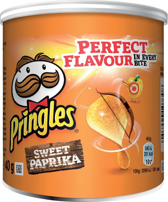 Pringles Chips Classic Paprika 40gr Pic1