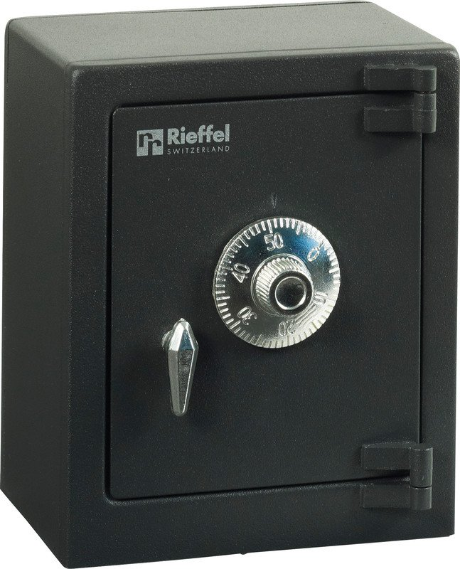 Rieffel Tresor my first Safe schwarz Pic1