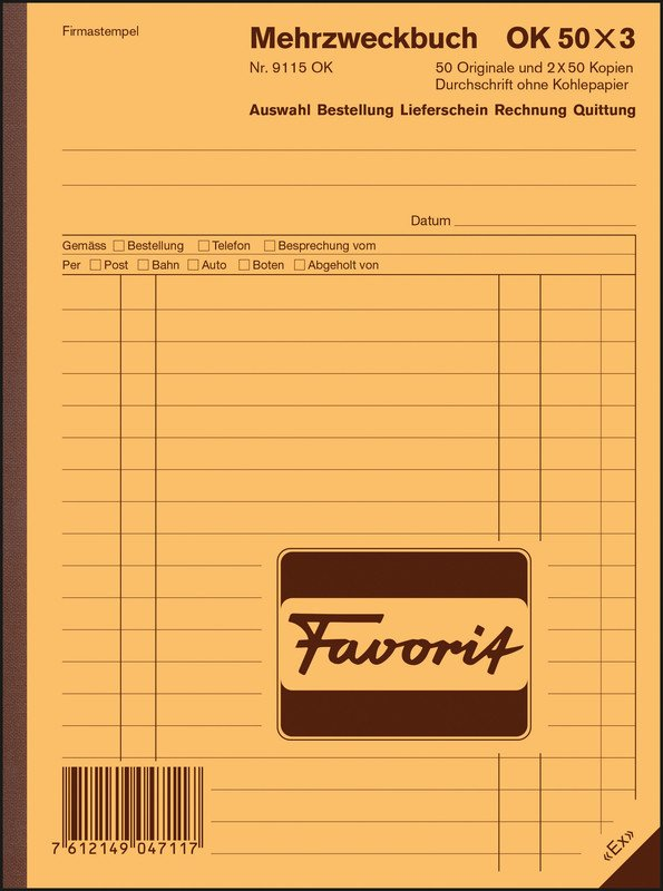Favorit Mehrzweckbücher A5 Ok 50x3 D Online Bestellen