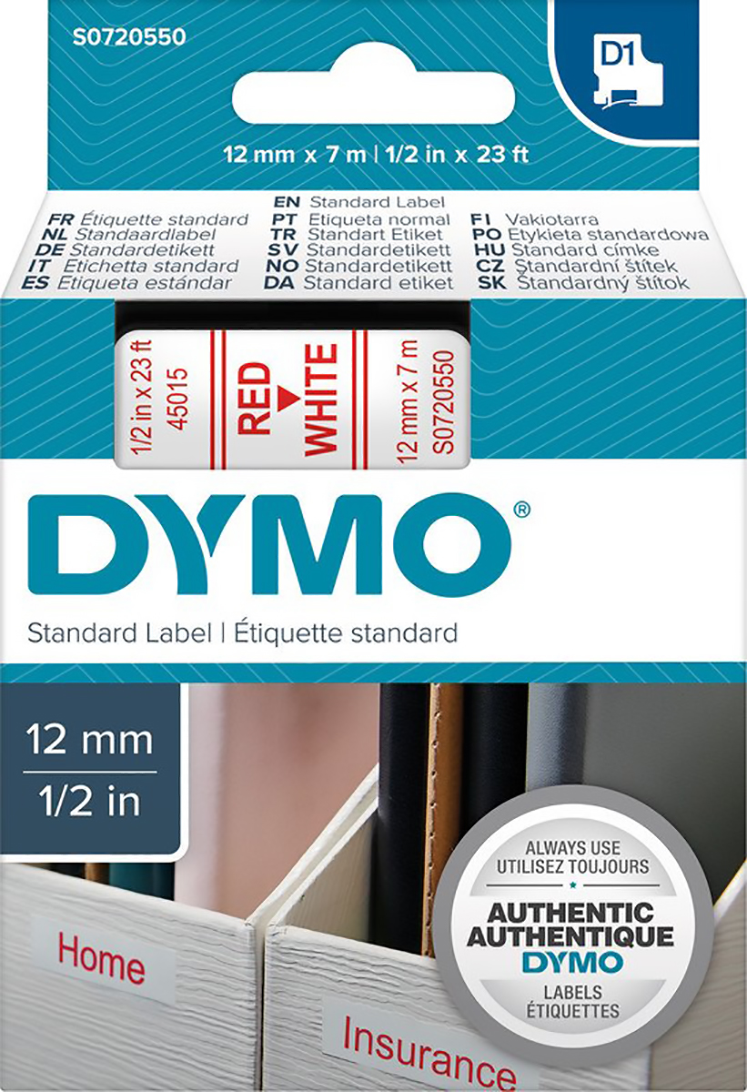 Dymo Band 12mmx7m Pic1