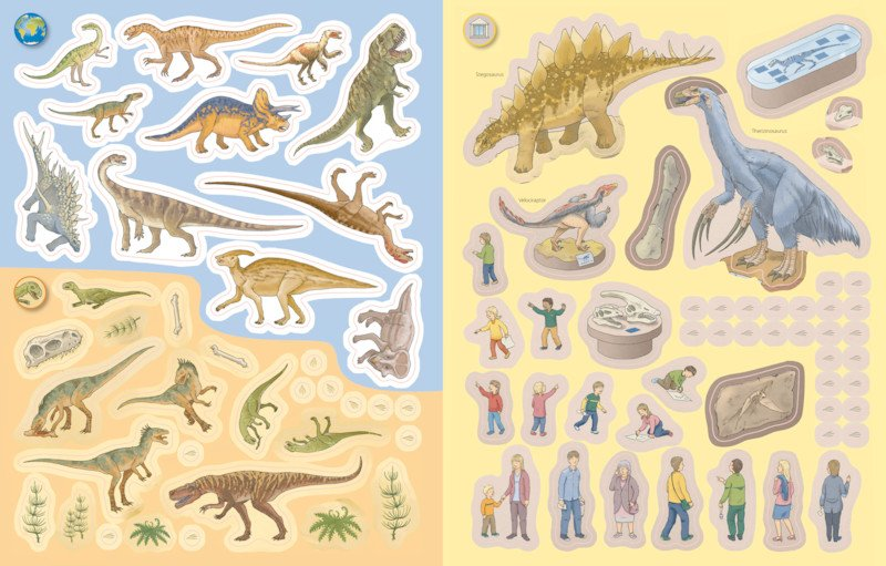 Ravensburger Stickerheft Dinosaurier Pic4