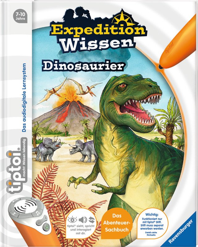 Ravensburger tiptoi Expedition Wissen Dinosaurier Pic1