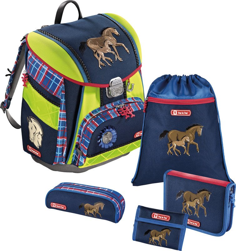 Step by Step Schulrucksack-Set Touch DIN 5teilig Pic1