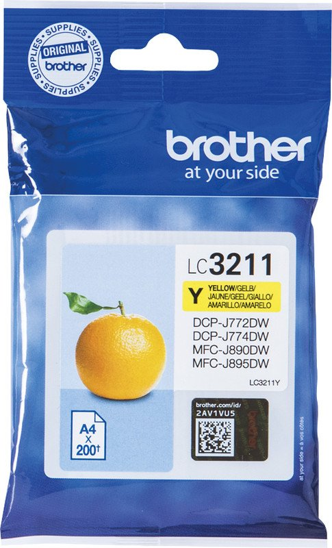 Brother InkJet LC-3211Y yellow Pic1