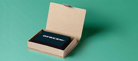 Sigel Visitenkartenbox 56x85mm Für 100 Karten Bei Ofrex Ch