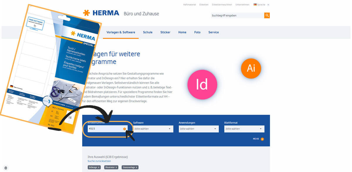 Amazon Com Herma Self Adhesive Removable